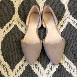 Beige Tan Old Navy Flats Sandals Shoes
